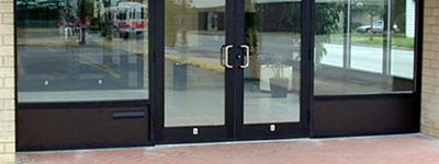 Image: Commercial Glass - Aluminum Doors and Frames