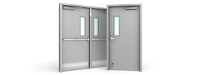 Image: Commercial Glass - Steel Doors and Frames